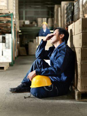 Workers in warehouse. Istockalypse Tokyo, Japan
